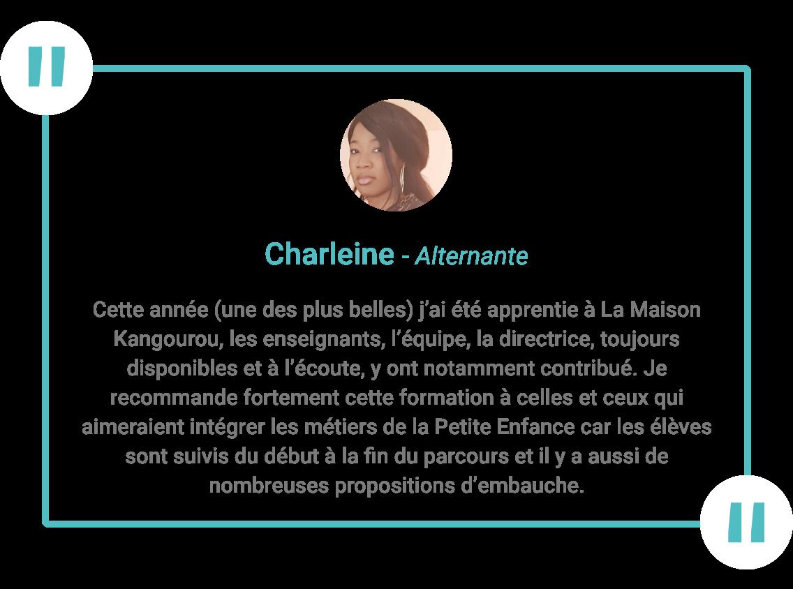 Charleine-témoignage